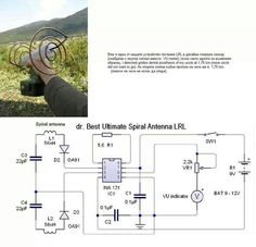 Spiral antenna metal detector Spoof of a Metal Detector - Funny Electronic Circuit Projects, Electrical Projects, Electronic Engineering, Electrical Engineering, Metal Detectors For Kids, Whites Metal Detectors, Diy Electronics, Electronics Projects, Metal Detektor