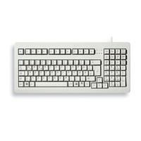 "Cherry G80-1800 (G80-1800LPCES-0)  - Individual keys with Gold Crosspoint contacts (MX technology) - Codeset 3 support (PS/2 connection only) e.g. for Unix computers - Perfect key feeling - High quality and compact 19"" PC keyboard - space-saving and ergonomic - High-quality keyboard for outstanding writing performance fulfilling even the highest demands - Extremely high service life of individual keys  EUR 143.99  Meer informatie"