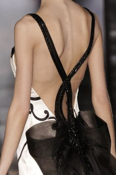 Amazing backless dress ,Armani Prive - Spring 2006