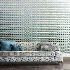 Azor wallpaper from the Entity Collection by Harlequin Wallpaper. A bold geometric design. #wallpaper #geometric