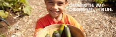 Edible Schoolyard, making the world a healthier place for children.