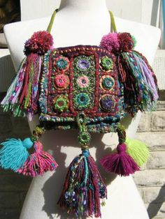 Robin's Classes at a Glance: Bohemian Chic~An Introduction into Shisha mirror embroidery