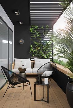 These are your beloved balkon design in the world Design Exterior, Home Interior Design, Interior And Exterior, Interior Modern, Interior Ideas, Scandinavian Interior, Classic Interior, Interior Styling, Apartment Balcony Decorating