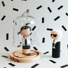 Kokeshi panenky: Coco, Karl nebo Marylin jako dřevěné sošky!