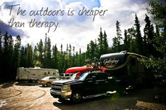 The outdoors is cheaper than therapy.
