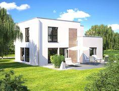 Hommage 165 Gartenseite --> Zahlreiche Bauhaus Wohnideen modern inszeniert. Die komplette Bildergalerie gibt es unter http://www.hanlo.de
