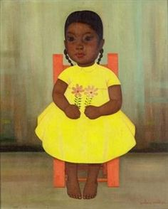 Girl in Yellow Dress By Gustavo Montoya