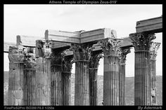 Athens Temple of Olympian Zeus ,by Aderstudio