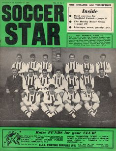 Soccer Star magazine in Sept 1965 featuring West Brom team group in the cover. West Bromwich Albion Fc, Laws Of The Game, Star Magazine, Association Football, Most Popular Sports, Sheffield United, Soccer Stars, World Cup, 1960s