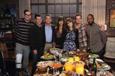 New Girl - Episode 6.07 - Last Thanksgiving - Promo Promotional Photos & Press Release