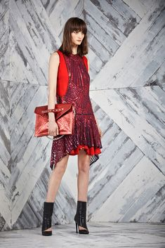 #Medieval surcoat inspired look 13 from Just Cavalli Pre-Fall 2014 Fashion Show