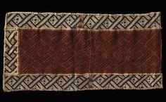 Kuba Cloth, Congo Congo, Animal Print Rug, Weaving, Objects, Textiles, Red, Gifts, Presents, Loom Weaving