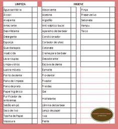 Organize sem Frescuras   Rafaela Oliveira » Arquivos » Lista de compras de supermercado para imprimir
