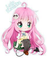 CHIBI COM: ROOROOSx / Lala Deviluke by cutesu