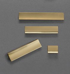 "Add an elegant detail and help any space shine with our Waterhouse Finger Pull. Based on a salvaged drawer pull from the ""Tempo"" line of Washington Steel Products in Tacoma, Washington, the design of our Waterhouse utilizes extruded shapes popular to the era. Diecast of solid brass, it offers an easy-to-open style to drawers and cabinets with the simple tug of a finger.  * Solid brass * Available in a finger pull and 5"", 7"", and 13"" widths * Designed with burr on the back of pull to prevent…"