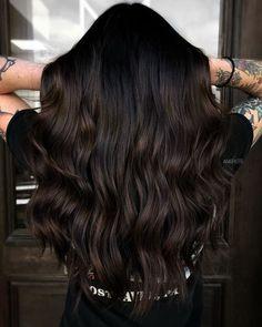 Haare dunkelbraune Welche Haarfarbe