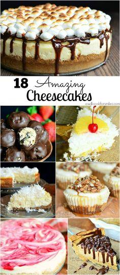 18 Amazing Cheesecak