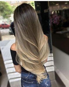 Projeto Along Hair – Recupere em 30 dias Cabelo Ombre Hair, Balayage Hair, Bayalage, Beautiful Long Hair, Gorgeous Hair, Very Long Hair, Hair 2018, How To Make Hair, Hair Highlights