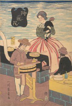 Utagawa Yoshikazu: A Dutch Group - Metropolitan Museum of Art Fine Art Prints, Canvas Prints, Oriental, Japanese Painting, Objet D'art, Japanese Prints, Japan Art, Historical Maps, Vintage Wall Art