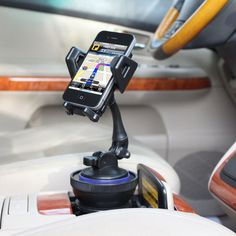 USA Gear Universal Cup Holder Mount Kit with Adjustable Cradle & Removable Suction Mount Surface. Works perfect for Smartphones , GPS Devices and more! #car #technology #gift http://www.accessorygenie.com/Mobile-Device-Mounts-cid467/Mobile-Device-Mounts-Smartphone-cid468?product_id=10633