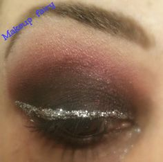 makeup fairy: Paciugopedia 2.0 #3 : black smoky with silver glitter liner