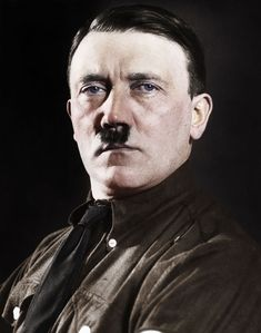 Adolf Hitler Photoshop Colored.