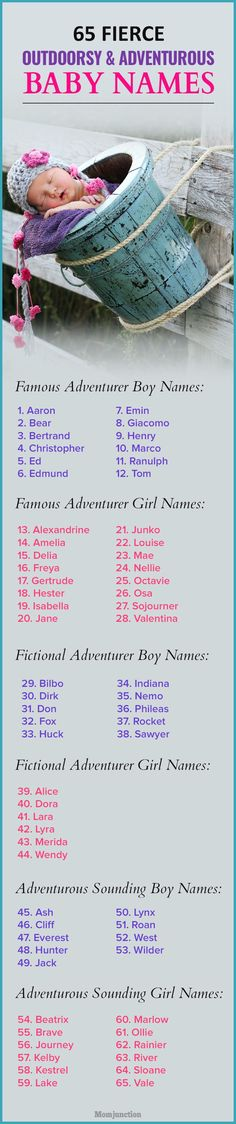 65 Fierce Outdoorsy And Adventurous Baby Names