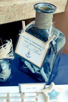 Perfect for a beach/nautical wedding