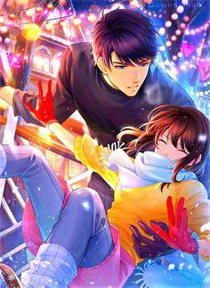 Anime Neko, Manga Anime, Couple Anime Manga, Anime Love Couple, Anime Couple Romantique, Anime Picture Boy, Romantic Anime Couples, Cute Anime Coupes, Estilo Anime