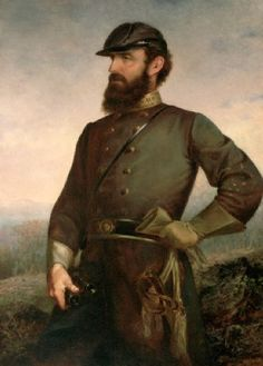 Stonewall Jackson proudly hangs on my wall of Civil War pictures thru out the house.