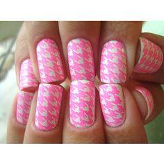 Nail art pink!