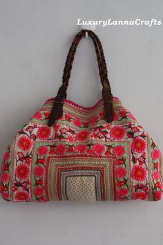 Luxury Lanna $129.00, via Etsy.  Someday I will get one of these purses!!!!
