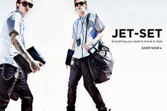 How do you jet-set?