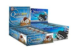 Quest Nutrition Bar Variety Pack Cookies and Cream and Coconut Cashew ** ** AMAZON BEST BUY **