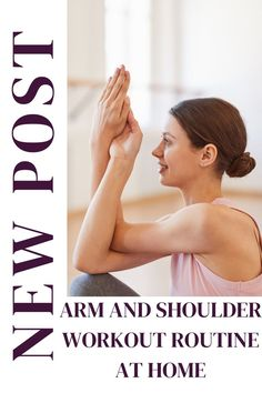Home shoulder workout routine for women to increase shoulder flexibility, mobility and overall stronger shoulders Shoulder Workout Routine, Shoulder Flexibility, Workout Routines For Women, Strong Shoulders, No Equipment Workout, Fitness Tips, Exercise, Ejercicio, Fitness Hacks