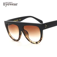 254b4ed75 KEHU Woman Flat Top Oversized Sun Glasses Cat Eye Sunglasses Brand Designer  De Sol K9250-in Sunglasses from Women's Clothing & Accessories on  Aliexpress.com ...