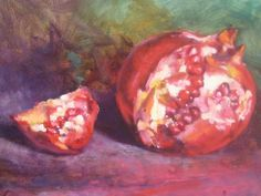 Pomegranate Painting by Susan Jenkins - Pomegranate Fine Art Prints and Posters for Sale
