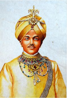 Krishnaraja Wodeyar IV Hyder Ali, Mysore Palace, Krishna, King, India, Illustration, Projects, Outfit, Log Projects