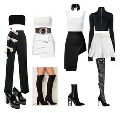 Bez tytułu #149 by payneofficial on Polyvore featuring moda, Giuliana Romanno, Boohoo, Off-White, Jacquemus, Opening Ceremony, Alaïa, Zimmermann and Miu Miu