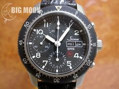 A rare SRS edition of a Sinn 103. The flyback feature makes this watch a true pilot's chronograph.
