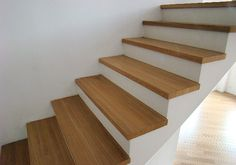 Wooden Staircases, Stairways, White Houses, Construction, Black And White, Interiors, Inspiration, Future, Design