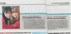 La Gazzetta del Mezzogiorno dello scorso 27 novembre parla del Festival Pianistico Città di Corato.