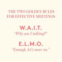 Make Your Next Meeting a Better Meeting. #CareerAdvice #WomenWhoWork