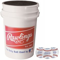 ROLB1X Practice Baseballs in Bucket (3 Dozen) * You can get additional details at the image link.