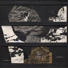 """gacougnol: """"Antoni CLAVE El cautivo (Captive) 1976 Oil and collage on wood """""""