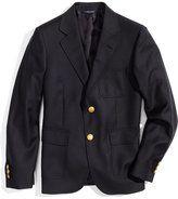 Navy blazer.
