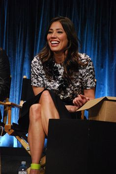Michaela Conlin from Bones at Paleyfest