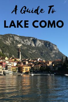 This is a guide to the four beautiful towns around the centre of Lake Como: Bellagio, Varenna, Menaggio & Lenno. These are generally the most popular to visit as they are all beautiful with incredible views and plenty to see...