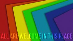 Open and affirming churches.