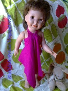 Pareo de agujero para muñeca